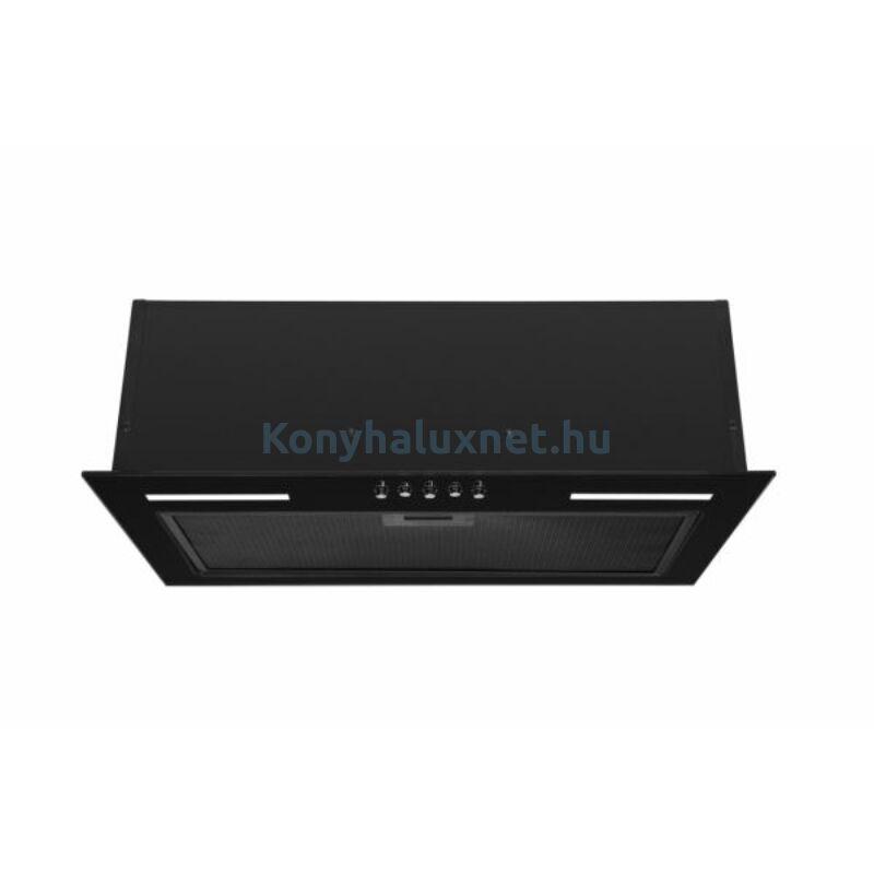 Evido Fade 60GB beépíthető páraelszívó fekete 55 cm