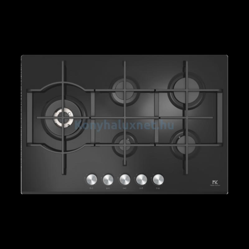 Master Kitchen Edge MKHG 7541-ED LTC BK Beépíthető Gázfőzőlap