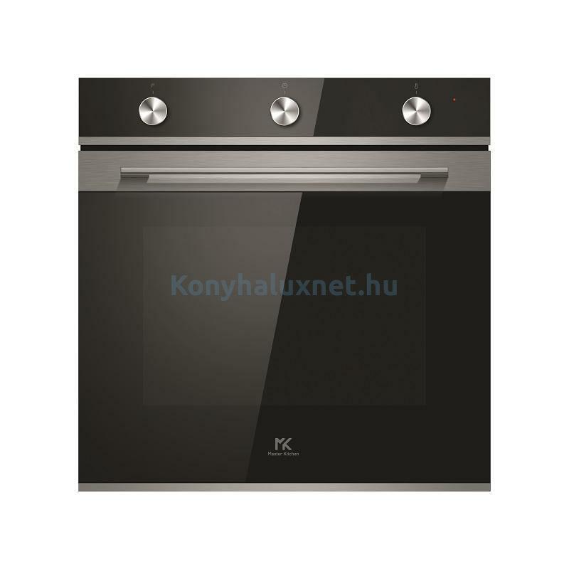 Master Kitchen Edge MKO 802-ED MS BK Beépíthető sütő