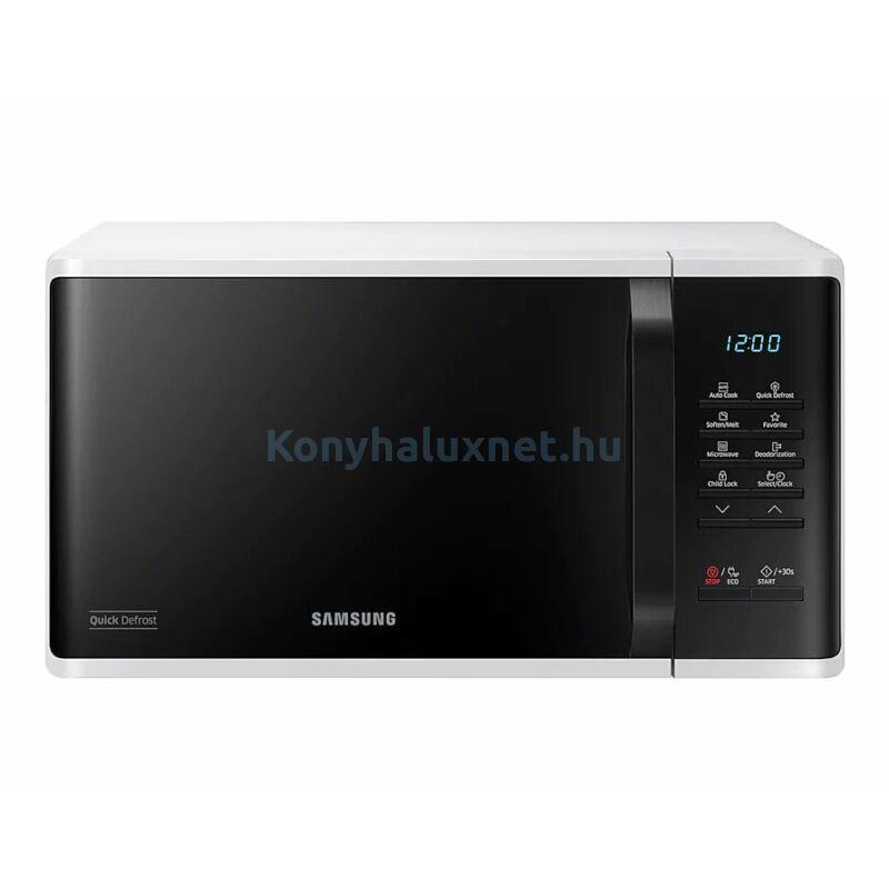 Samsung MS23K3513AW/EO szabadonálló mikrohullámú sütő fehér 23L