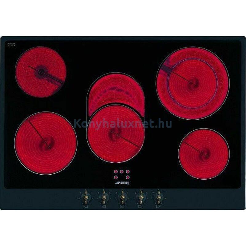 SMEG Beépíthető Kerámia Főzőlap P875A