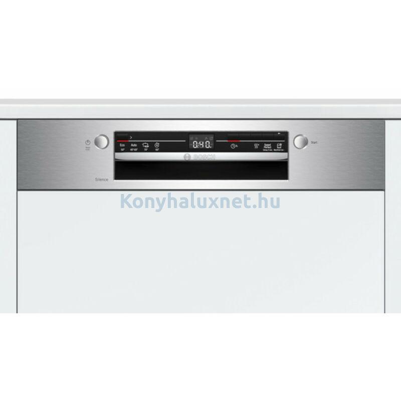 Bosch SGI2ITS33E beépíthető mosogatógép nemesacél Serie2