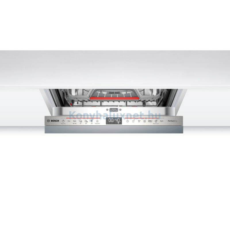 Bosch SPV6ZMX23E beépíthető mosogatógép TimeLight