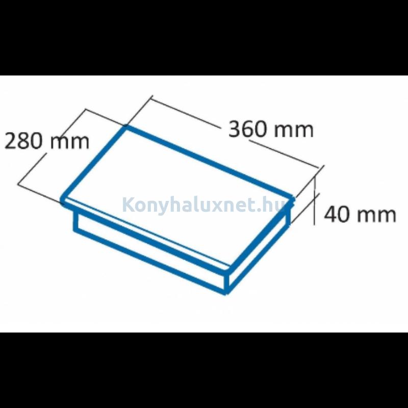 Cata IHPF-351 BK fekete hordozható indukciós lap