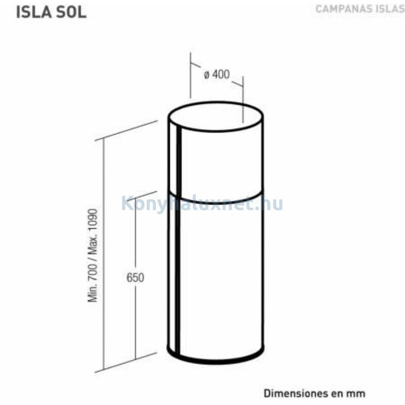 Nodor NorBreeze ISLA SOL X/B páraelszívó