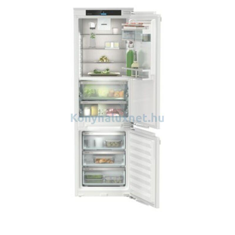 LIEBHERR ICBNd 5153 Prime BioFresh NoFrost beépíthető kombinált hűtőszekrény 178cm