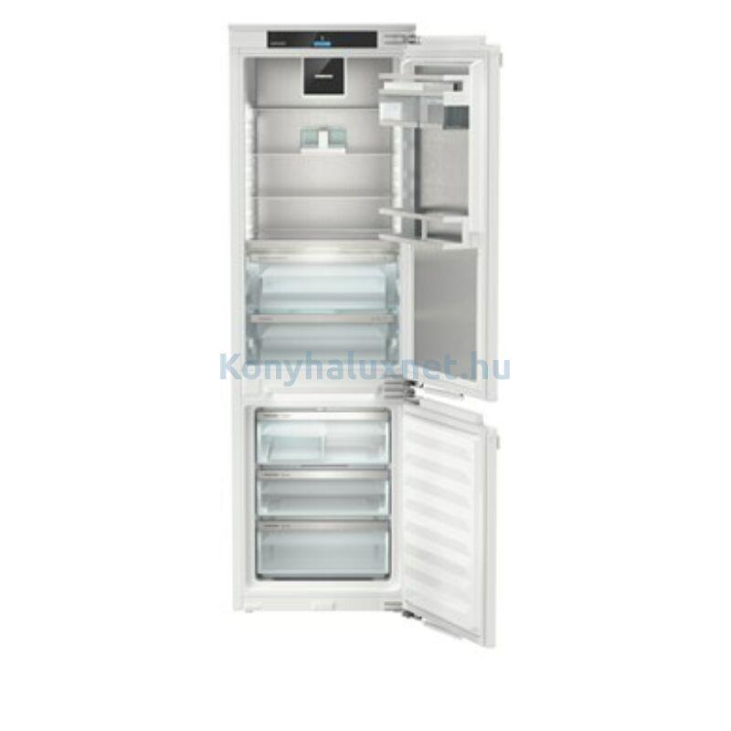 LIEBHERR ICBNdi 5183 Peak BioFresh + HydroBreeze NoFrost IceMaker beépíthető kombinált hűtőszekrény