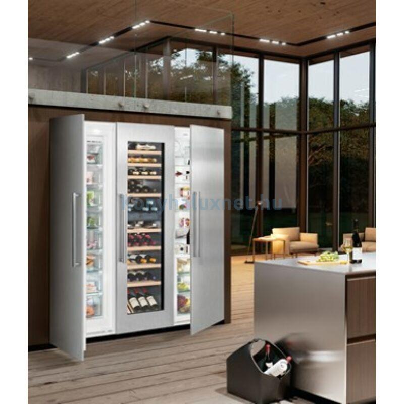 LIEBHERR SBSWdf 99I5 beépíthető Side-by-side hűtőszekrény BioFresh NoFrost borhűtő