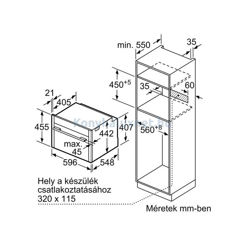 Neff C17MS22G0 N90 beépíthető kompakt sütő mikrohullámmal Neff Collection