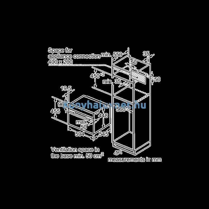 NEFF C1APG64N0 Beépíthető mikrohullámú sütő gőzfunkcióval
