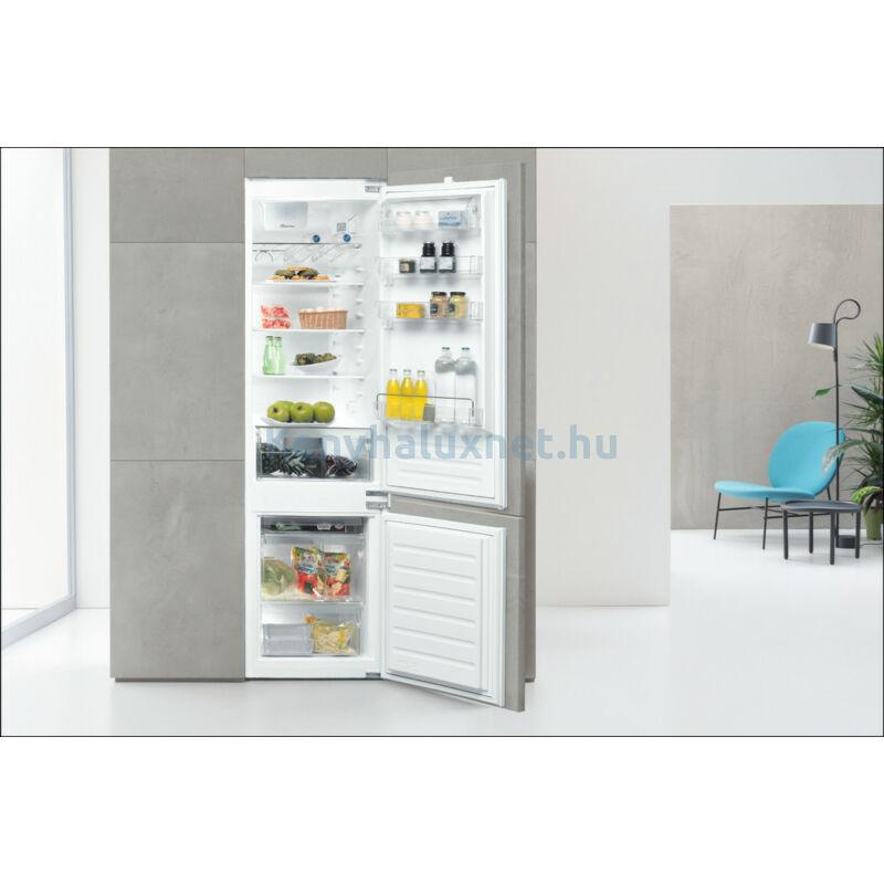 WHIRLPOOL Beépíthető Kombinált Hűtőszekrény ART 96101