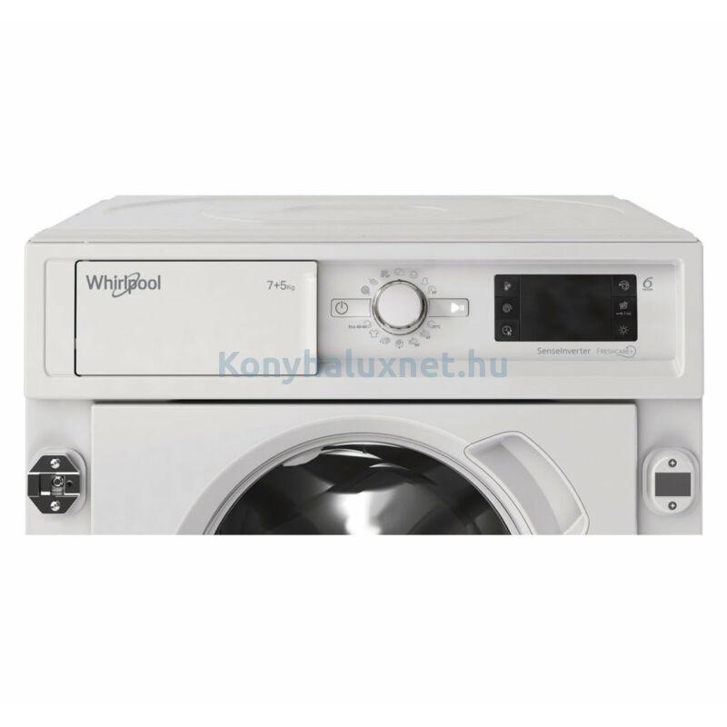 Whirlpool BI WDWG 961484 EU beépíthető mosó-szárítógép 9/6kg